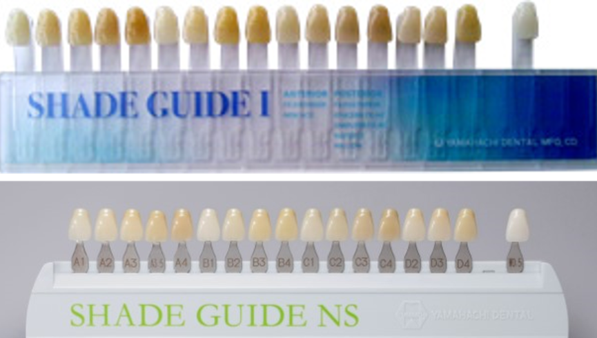 NS SHADE GUIDE and ACRYLIC
